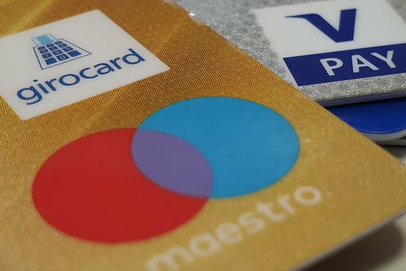 Die girocard war früher auch als EC Karte bekannt